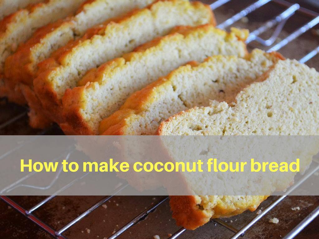 Low carb coconut flour bread ketogenic vip for Low carb fish breading